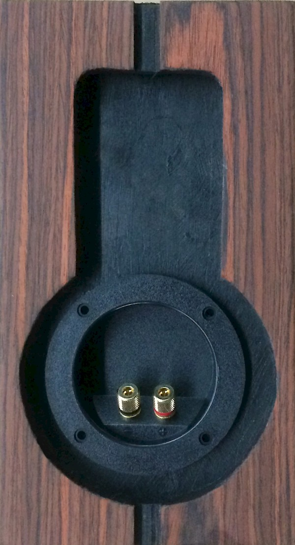 MicroWalsh Signature Edition Wall Surround Omni Speaker in Rosewood