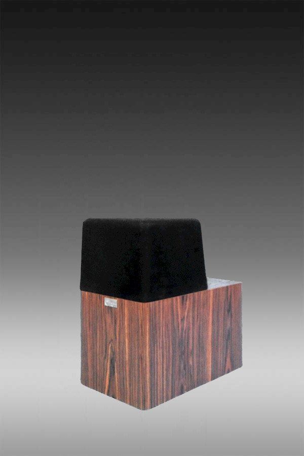 Walsh 2000 Center Channel Deep Narrow Speaker in Rosewood