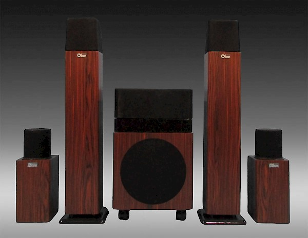 MicroWalsh HT-5.1 Home Theater System
