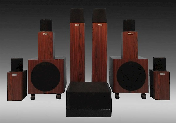 MicroWalsh HT-7.2 Home Theater System