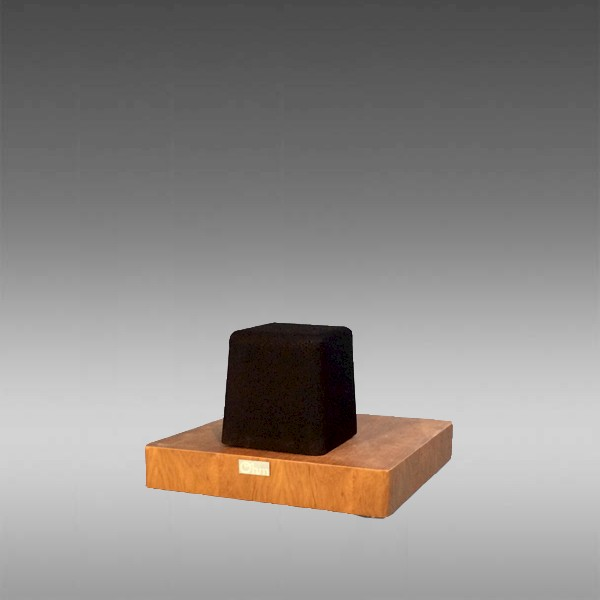 MicroWalsh Freestanding Shelf Center Channel Speaker in Teak