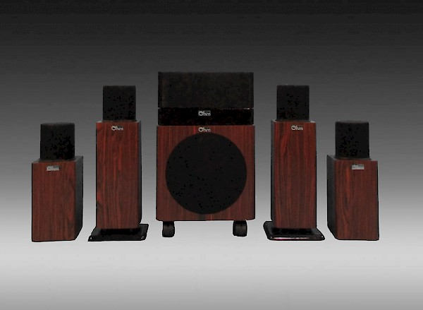 MicroWalsh Short HT-5.1 Home Theater System