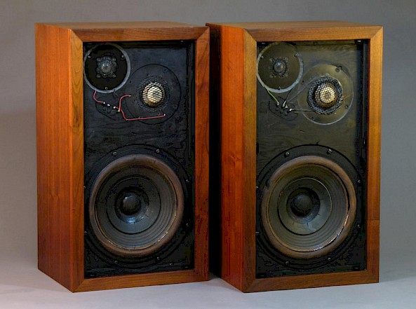 These Small Speakers Used Designs That Traded Off Sensitivity For Size And Frequency Response They Were Very HiFi Great Stereo Reproduction In